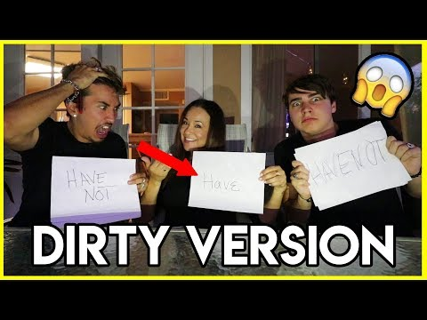 DIRTY NEVER HAVE I EVER ft. Brennen's Mom!! (Super Awkward)