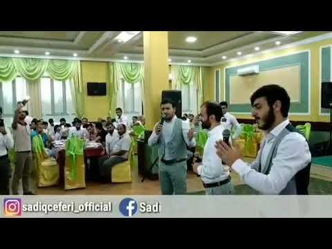 Whatshapp status üçün qısa video - Sadiq Cəfəri- Hilal qrupu Toy (2018)