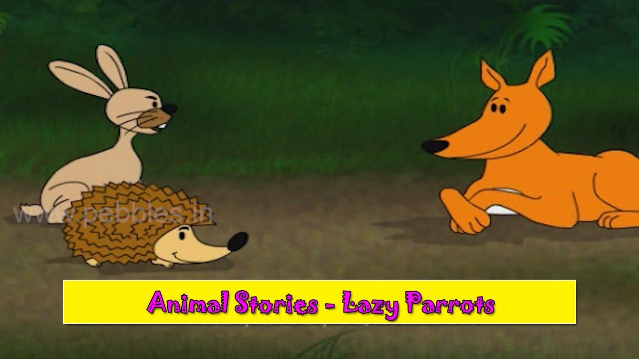 Sasa Ani Salu | Rabbit & Hedgehog | Animal Stories Marathi for Kids |  Marathi Goshti for Children HD