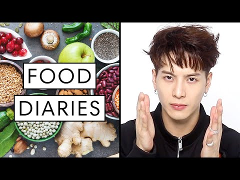 Everything Jackson Wang Eats in a Day   Food Diaries: Bite Size   Harper's BAZAAR