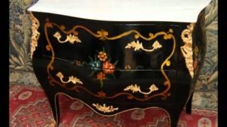 видео Антикварная мебель и предметы декора в интерьере