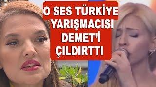Demet Akalın şarkısını okuyan O Ses Türkiye yarışmacısını hedef aldı!