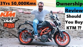 KTM Duke 390 Long Term Ownership Review | 50,000 Kms | Service, Reliability, Issues, Quality, Power