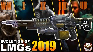 Evolution of LMGs from the CoD Black Ops Series | (WaW-BO4)