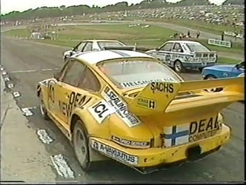 Sphere Drake Insurance European Rallycross 1985 Lydden Hill Div 2 A final