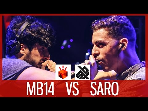 MB14 vs SARO | Grand Beatbox LOOPSTATION Battle 2017 | SEMI