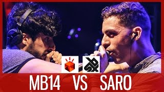 Download MB14 vs SARO | Grand Beatbox LOOPSTATION Battle 2017 | SEMI FINAL Mp3 and Videos