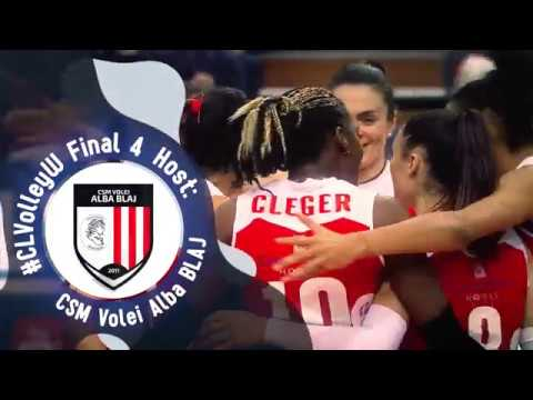 2018 CEV Volleyball Champions League Women's Final 4 Organiser - CSM Volei Alba BLAJ (ROU)