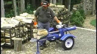 Repeat youtube video Wallenstein WX Log Splitter