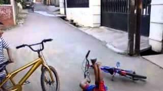 kecelakaan jatuh dari sepeda