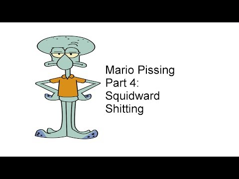Mario Pissing Part 4: Squidward Shitting