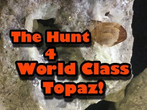 Finding World Class Sherry Topaz - Mining America Ep17 - Topaz Mountain Adventures 10/5/2016