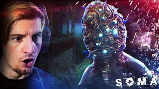 THE FIRST MONSTER ENCOUNTER (It's following us.) || SOMA (Part 3)