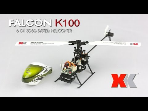 XK K100 - Unboxing, 6G, 3G and some 3D (RCMOMENT.COM)