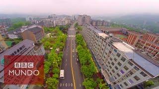 La mega ciudad china que nació de la nada