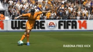 FIFA 14 | Rabona Free Kick Tutorial (XBOX/PS3/PC)