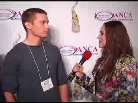 Russell Lehmann, Autistic Poet, red carpet interview in Canada