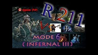 Drakensang Online Bigbomb vs All Infernal 3 Bosses R211