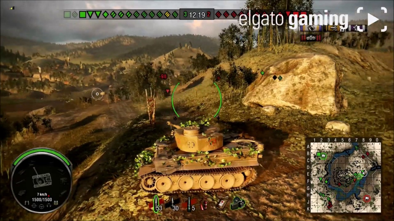 Wot console Tiger 131 Game#1