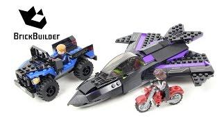 Lego Super Heroes 76047 Black Panther Pursuit - Lego Speed Build
