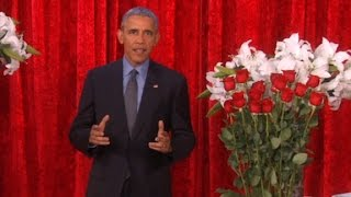 Obama's funny love poem to Michelle