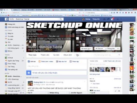 SKETCHUP ONLINE buổi 1   Hướng dẫn cài SketchUp và Vray