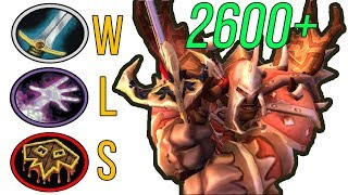 R1 Warr PoV: 2550cr (2700mmr) ★WLS★ | BFA Edition