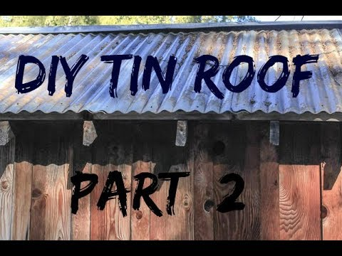 diy-home-build-tin-roof-pt-2-finished-rolled-roof