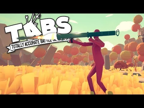 TABS - Crazy New Rocket Launchers Vs. Mammoths! - Totally Accurate Battle Simulator Gameplay