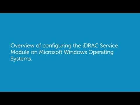 Configuring iDRAC Service Module