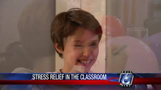 Local teacher creates stress management program for students