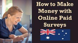 Paid online surveys australia - make money taking