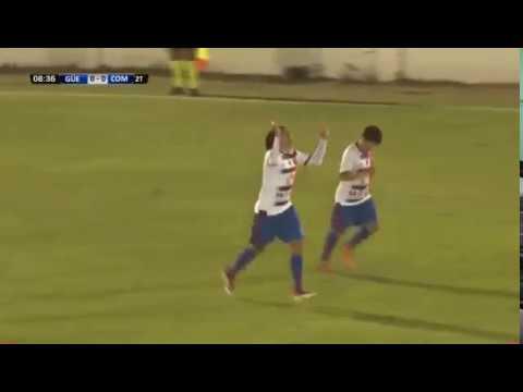 Güemes 1-0 Comercio / Gol de Miguel Puntano
