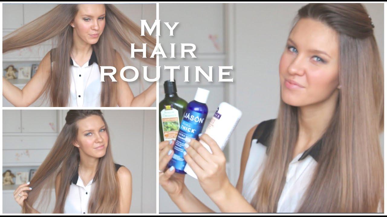 Длинные волосы отрастить