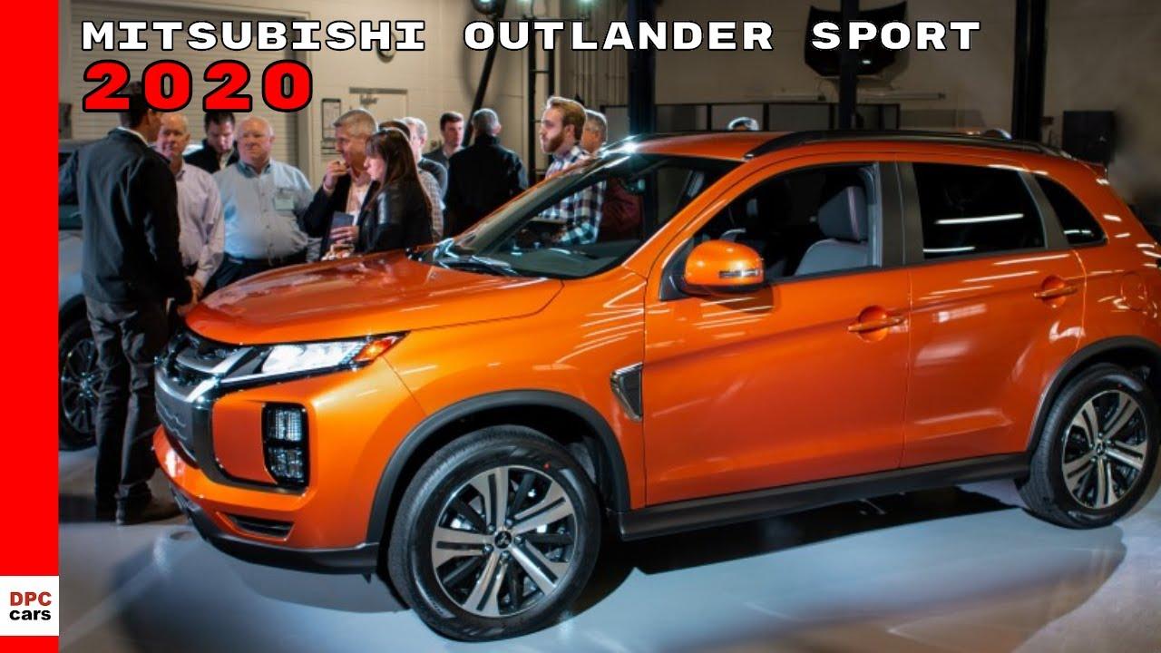 2020 Mitsubishi Outlander Sport Reveal
