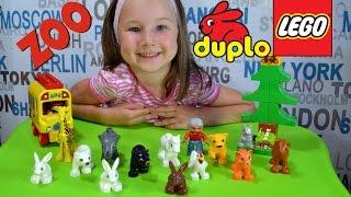 Развивающий мультик для детей Лего Дупло Зоопарк    Cartoons for children Lego Duplo Zoo
