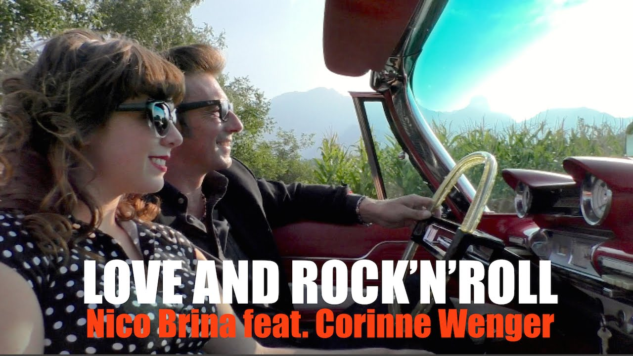 Nico Brina feat. Corinne Wenger - Love and Rock'n'Roll (Official Clip)