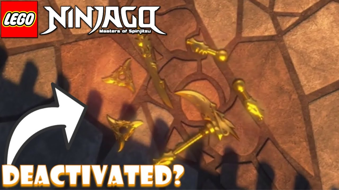 What Happened To The Golden Weapons In Ninjago Season 10 Youtube