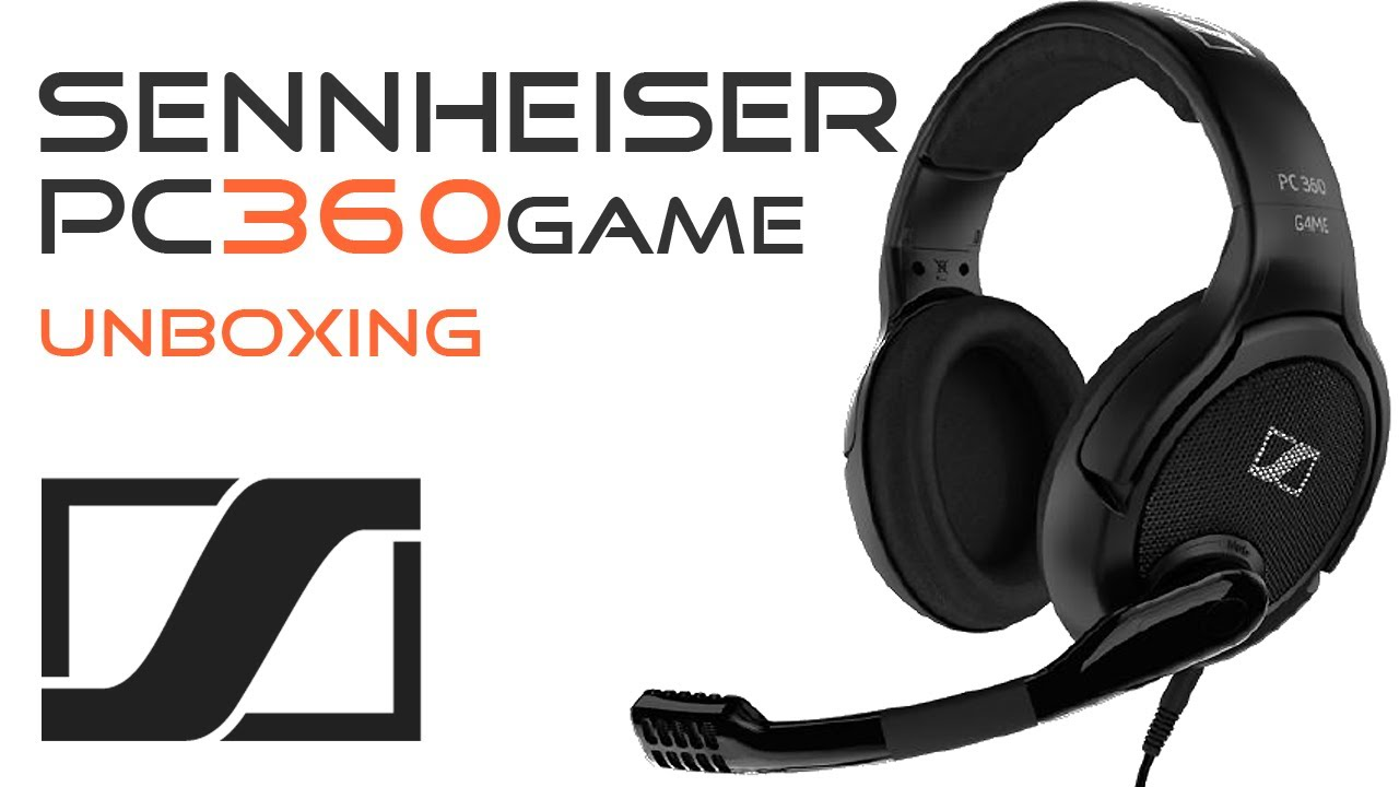 SENNHEISER PC 360 G4ME Headset Unboxing - Xbox PS3 - YouTube