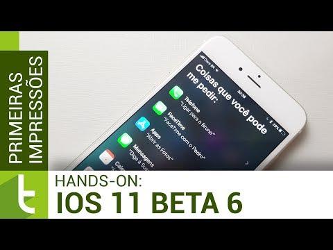 Primeiras impressões do iOS 11 beta 6 | Review do TudoCelular