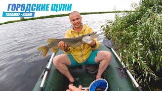 Рыбалка за Городом в день Рыболовства Ловим щуку на летние жерлицы