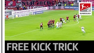 Cheeky Free Kick Move - Trick Results in Great Goal