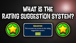 What is the Rating Suggestion System? (GD Mod) | Geometry Dash