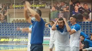 Обзор матча 12 декабря Мини футбол Суперлига МФК Тюмень Динамо Самара 0 4