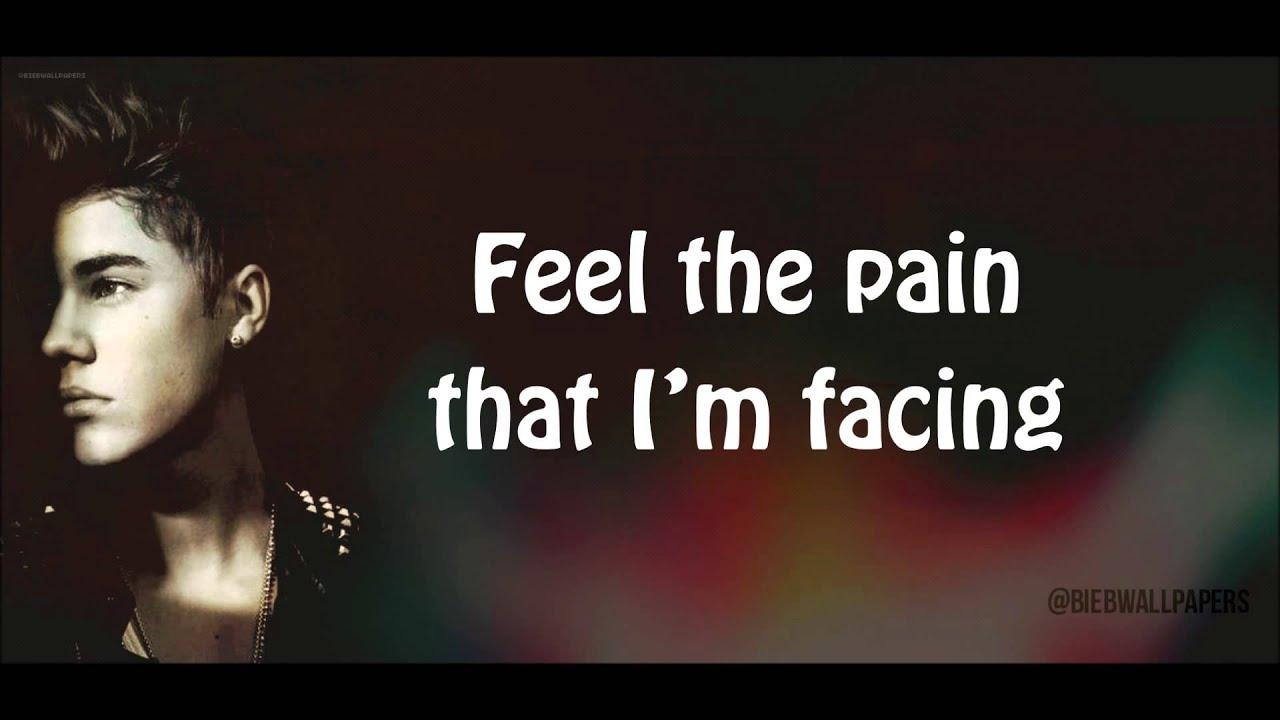 Justin Bieber Change Me Lyrics Hd Youtube