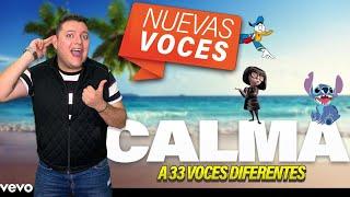 CALMA REMIX - 33 IMITACIONES FAMOSAS thumbnail