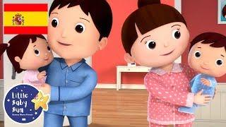 Canciones Infantiles | Duérmete, niño | Parte 2 | Dibujos Animados | Little Baby Bum en Español