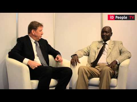 Interview with Thomas Gatkuoth Nyak at Wise Media's seventh EMEA summit