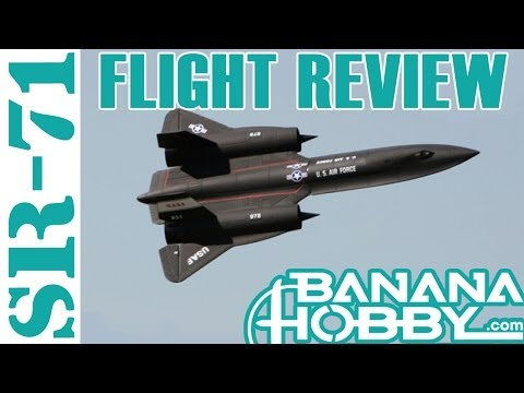 SR-71 Blackbird BlitzRCWorks   Flight Review   EDF Fighter Jet