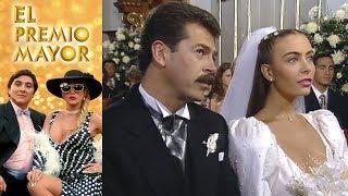 El premio mayor: La boda de Rosario y Jorge  | Escena - C-47 | Tlnovelas
